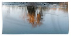 Beach Towel featuring the photograph Flint River 21 by Kim Pate