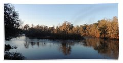 Beach Towel featuring the photograph Flint River 26 by Kim Pate