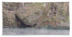 Beach Towel featuring the photograph Flint River 5 by Kim Pate