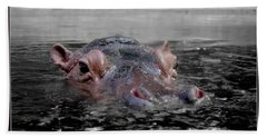 Flooding Beach Towel by Michelle Meenawong