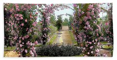 Floral Arch Beach Sheet by Terry Reynoldson