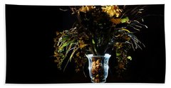 Beach Towel featuring the photograph Floral Arrangement by David Andersen