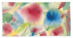 Floral Burst Beach Sheet