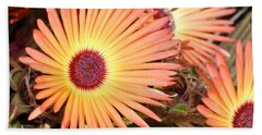 Beach Towel featuring the photograph Floral by Cathy Mahnke
