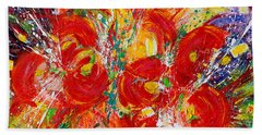 Floral Expressions Beach Towel