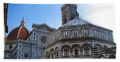Florence Cathedral Beach Towel