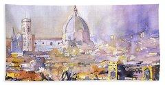 Florence Duomo Beach Sheet by Ryan Fox