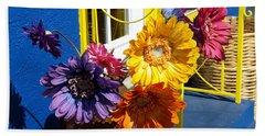 Flores Colores Beach Sheet
