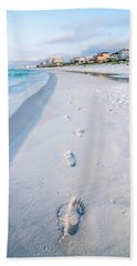 Florida Beach Scene Beach Towel by Alex Grichenko