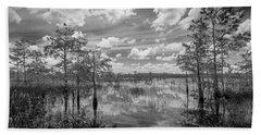 Florida Everglades 5210bw Beach Sheet