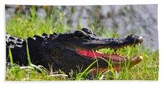 Gator Grin Beach Towel