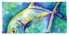 Florida Keys Permit Beach Towel