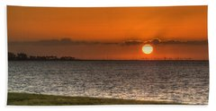 Florida Sunrise Beach Sheet by Jane Luxton