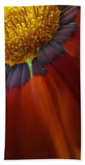 Beach Towel featuring the photograph Flower by Andy Prendy