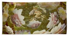 Flower Drift Beach Towel
