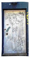 Flower Faces Beach Sheet by Ethna Gillespie