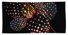 Flower Of Lights Beach Towel