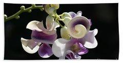 Flower-snail Flower Beach Sheet by Joy Watson