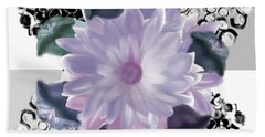 Flower Spreeze Beach Towel by Christine Fournier