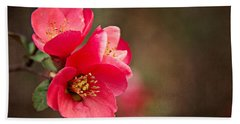 Flowering Quince Beach Sheet