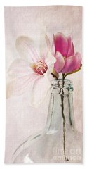 Flowers In A Bottle Beach Towel