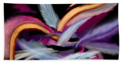 Fluff Beach Towel by Christine Fournier