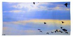 Fly Like The Wind Beach Towel