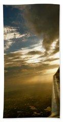 Flying Clouds By David Pucciarelli Beach Towel