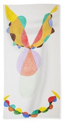 Beach Towel featuring the painting Flying Colors by Stormm Bradshaw