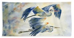 Flying Together Beach Towel
