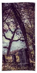 Beach Towel featuring the photograph Foggy Memories by Melanie Lankford Photography
