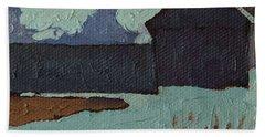 Foley Mountain Farm Beach Towel by Phil Chadwick