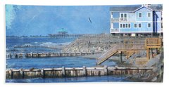 Folly Beach Beach Towel