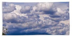 Fontana Lake Storm 2 Beach Towel by Chris Flees