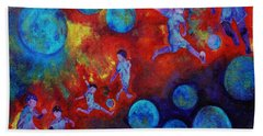 Football Dreams Beach Towel