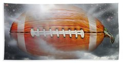 Football Pumpkin Beach Sheet