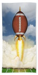 Football Spaceship Beach Sheet