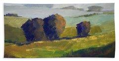 Foothills Landscape Beach Towel