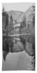 Footsteps Of Ansel Adams Beach Towel
