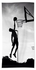 For The Love Of Basketball  Beach Towel