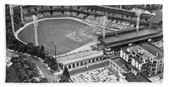 Forbes Field In Pittsburgh Beach Towel