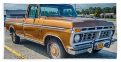 Ford F-100 7p00531h Beach Towel