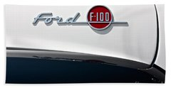 Ford F-100 Beach Towel