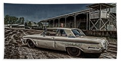 Ford Galaxie 500 4 Beach Sheet by Thomas Young
