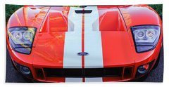 Ford Gt40 Sports Car -0045c Beach Towel