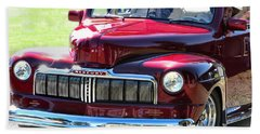 Ford Mercury Eight Beach Towel