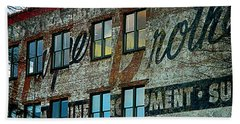 Fords Restaurant In Greenville Sc Beach Towel by Kathy Barney