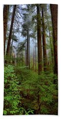 Forest Mist Beach Towel