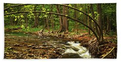 Forest River Beach Towel