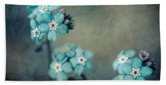 Forget Me Not 01 - S22dt06 Beach Towel